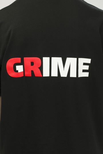 T+ Crime Grime T-shirt Black