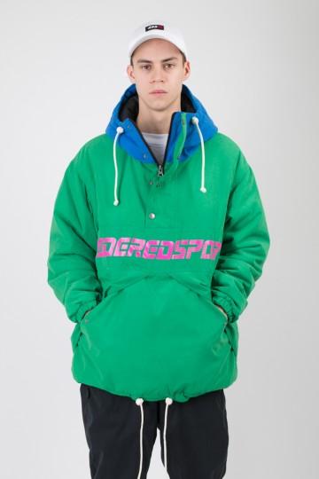 Анорак Superblaster 2 Зеленый Яркий/Синий Яркий