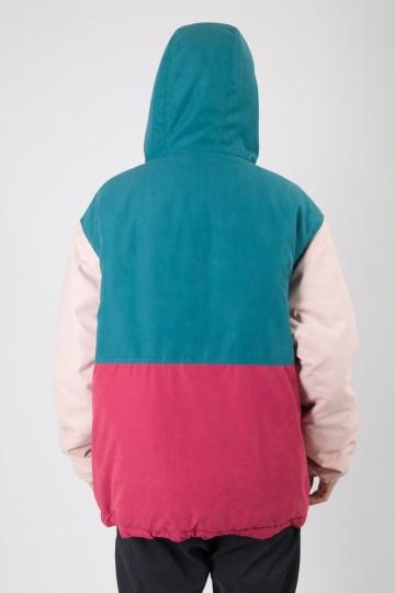 Анорак Superblaster 2 Зелёный Морской/Розовый Светлый/Бордо/Синий Чернильный