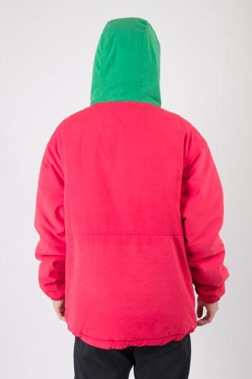 Анорак Superblaster 2 Красный Винтаж/Зеленый Яркий