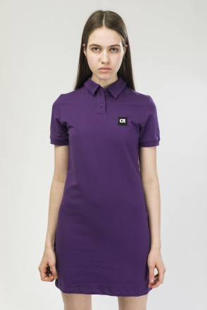 Adress Polo Dress Violet