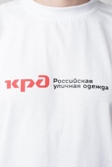 Футболка Regular Russian Roads Белый