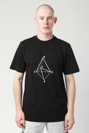 Футболка Regular Geometry Черный