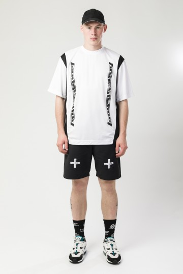 Футболка Fast Sports Белый/Черный