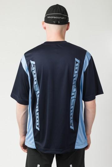 Футболка Fast Sports Синий Чернильный/Голубой Яркий