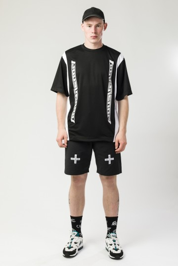Футболка Fast Sports Черный/Белый