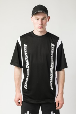 Fast Sports T-shirt Black/White