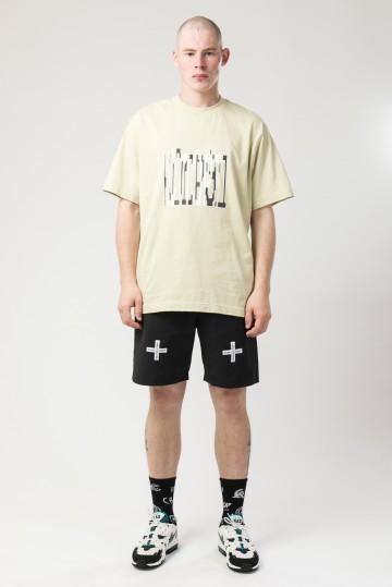 Футболка T-Shirt Exclude Stretch Font Бежевый