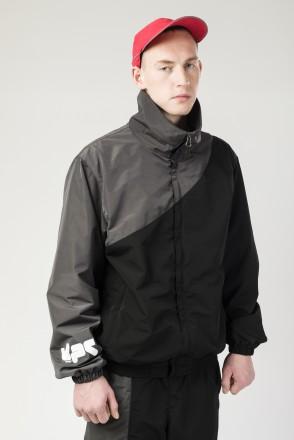 Олимпийка Round Corner Jacket Черный/Антрацит