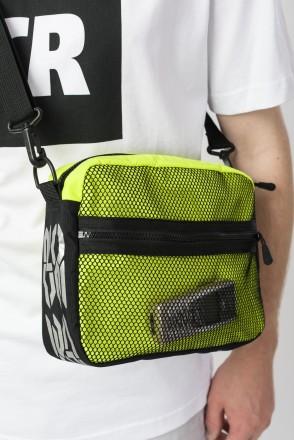 Сумка для документов Horizon Bag Флюр Лимон Светоотражающий