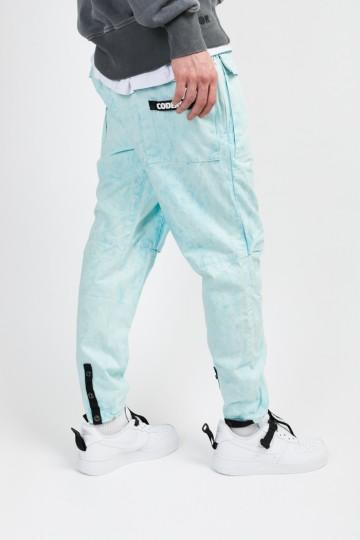 Штаны Cargo GD COR Голубой/Белый