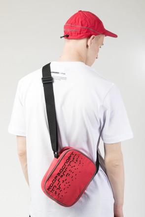 Side Speed Bag Red Vintage