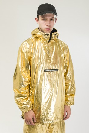 Astral Anorak Gold/Black
