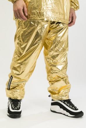 Astral Pants Gold/Black