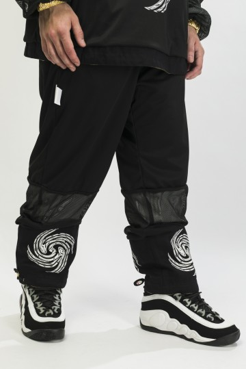 Брюки двусторонние Astral Pants Черный Блестящий/Черный
