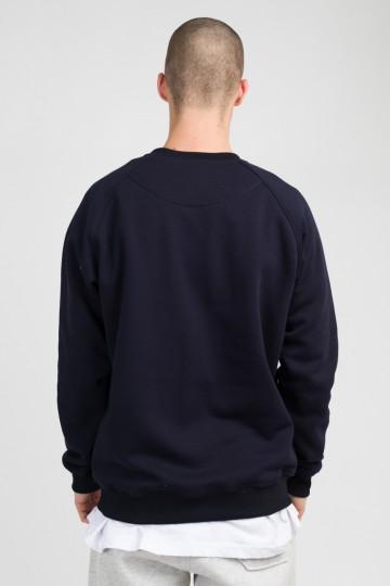 Firm Crew-neck Dark Blue