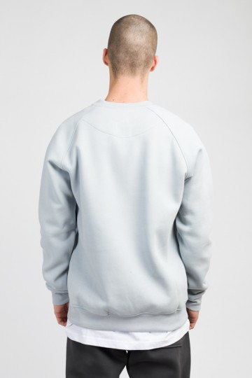 Firm Crew-neck Gray Melange