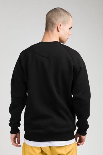 Firm Crew-neck Boxcat Black