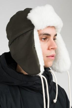 Шапка-ушанка Core Болотный