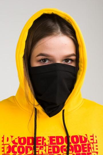 Tолстовка Girl Hoodie Желтый Теплый Cropped