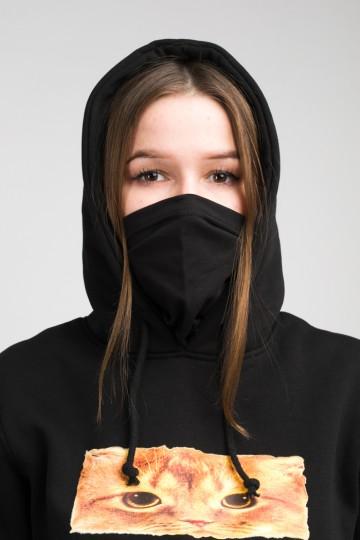 Толстовка Girl Hoodie Черный Boxcat