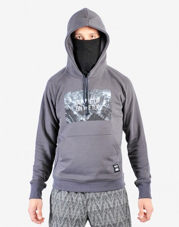 Codered x On The Roofs Hoodie Dark Gray