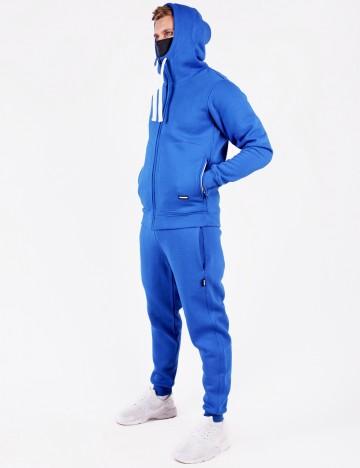Толстовка Mask Zip Синяя