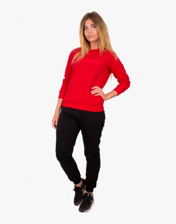 Clean Crew-neck Red