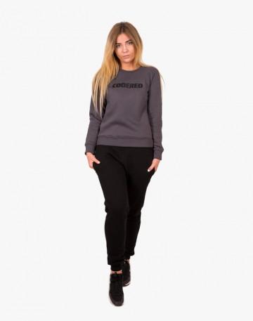 Clean Sweatshirt Dark Gray