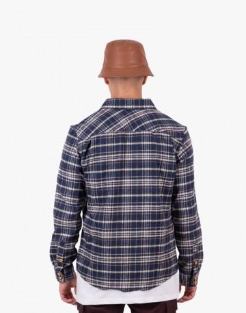 Рубашка Harbor Синий/черный/молочный