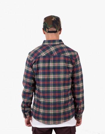 Рубашка Harbor Зеленый/синий/бежевый