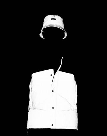Track Vest Black/Reflective