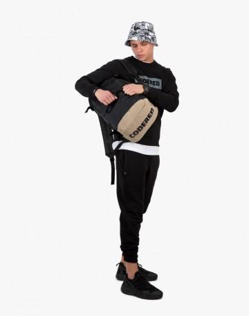 Рюкзак Action Черный/бежевый