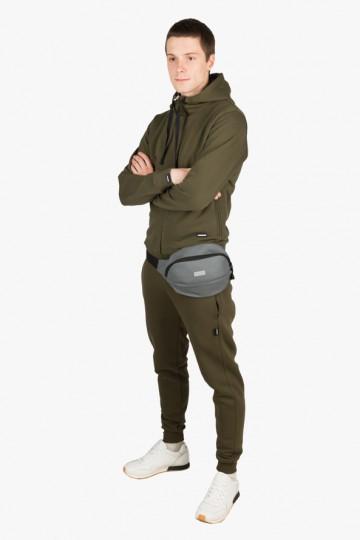 Сумка Hip Bag Large темно-серая