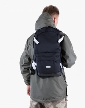 Рюкзак Action Черный/белые стропы