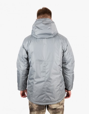 Chrome Anorak Light Gray