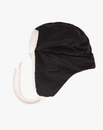 Шапка-ушанка Core Черная