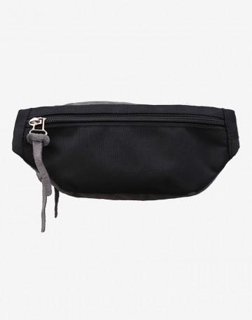 Сумка Hip Bag Серая Замша