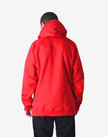 Толстовка Hood Красное Лого КОДРЭД Красная