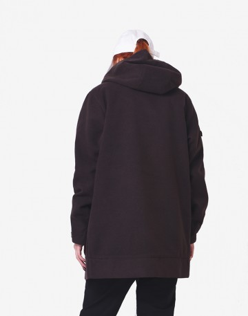 Пальто Siren Coat COR Коричневый Темный