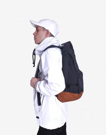 Рюкзак Action Черный/рыжая замша