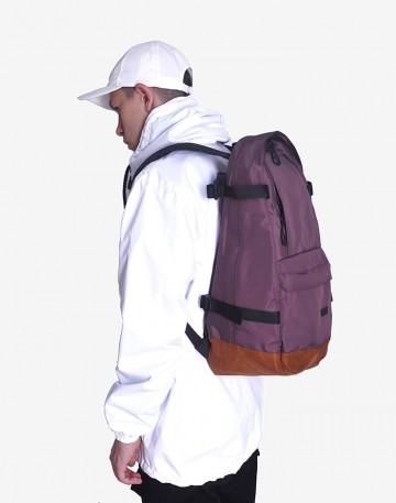 Рюкзак Action Коричневый/рыжая замша