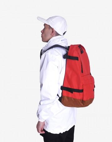 Рюкзак Action Красный/Рыжая замша
