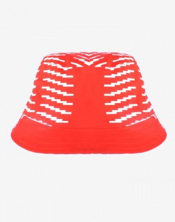 Панама Bucket Codered x Stenograffia Красная