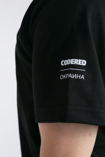 Футболка Regular CODERED x Окраина Черный