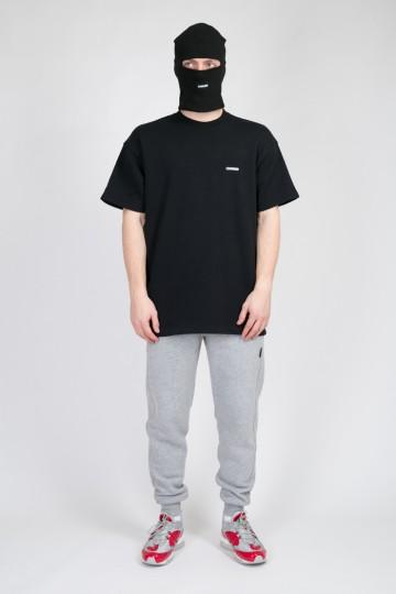 Stage White Logo T-shirt Black