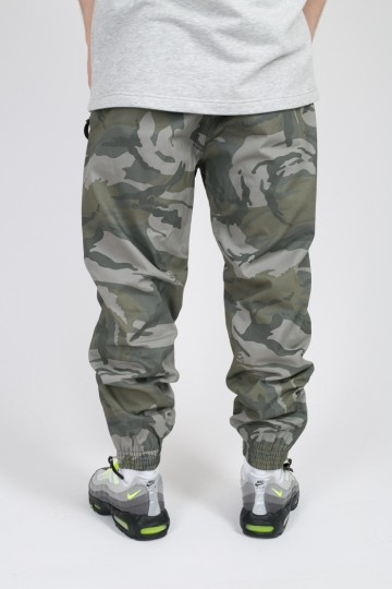Oldschool Pants Gray Camouflage