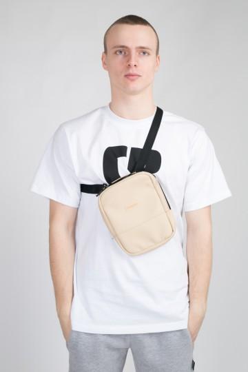 Code Bag Beige Leather