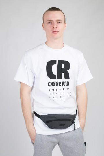 Сумка Hip Bag Черный-светоотражающий