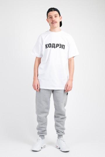 T+ Кодрэп T-shirt White